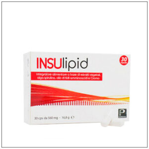 Valori colesterolo e trigliceridi alti? Insulipid