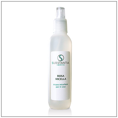Rosa Micella, acqua micellare e detergente per il viso
