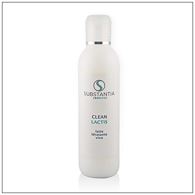 Clean Lactis, latte idratante viso