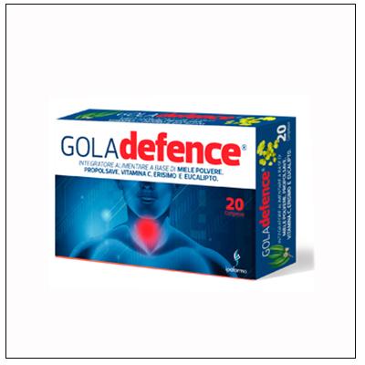 Gola Defence, sconfiggi il mal di gola