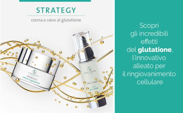 Strategy, crema al glutathione