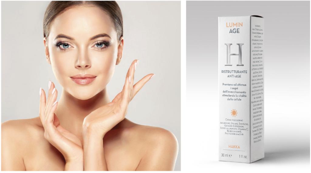 Lumin Age H crema ristrutturante viso