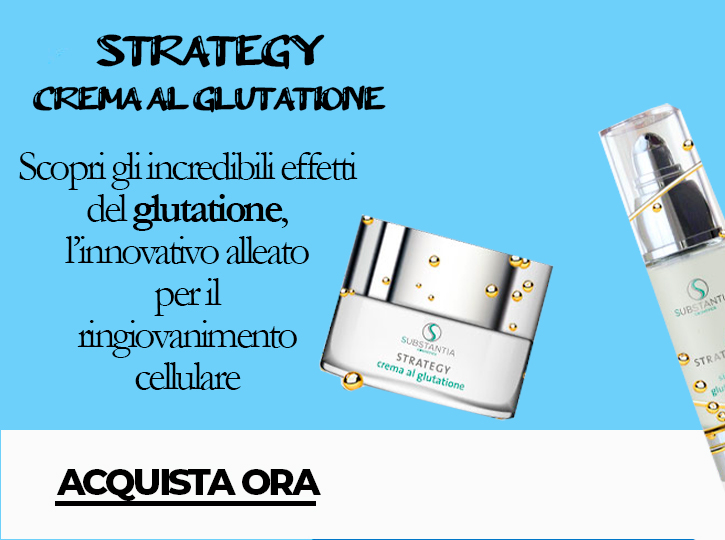 Strategy crema al glutatione
